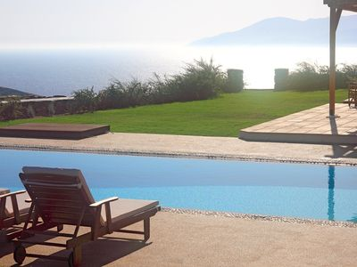 Photo for Luxury Villa Etoile, Ios Island, 5 BR 5 BA, Private Pool, Up to 12 Guests, Eco-friendly holiday Villa with breathtaking views! - Five Bedroom Villa, Sleeps 12