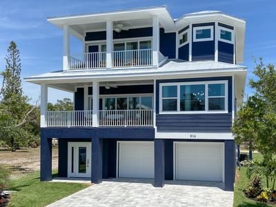 Photo for Beautiful New Construction Luxury Pool Home, Close to the Beach!