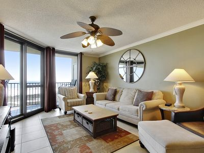 Photo for Upgraded Luxury Beachfront Condo | Beautiful Views of Gulf | My Beach Getaways
