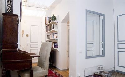 Photo for Quiet Studio-Apartment, in a décor of refined elegance, in the heart of Paris