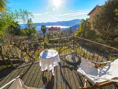 Photo for Villa Rosellina well-restored period villa with garden and wonderful lake view