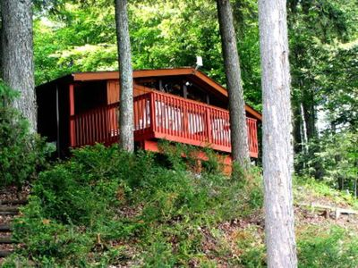 Photo for Affordable Cozy Cottage On Long Lake! Features A Grill, Deck, & Dock