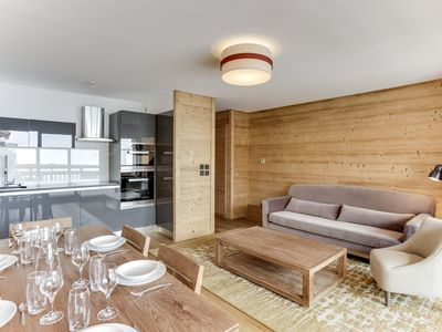 Photo for Splendid apartement in a residence at the foot of ski slopes