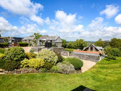 Photo for Barn conversion with countryside views and walking distance to Wadebridge Town
