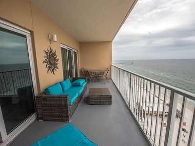 Photo for Live the dream, Gulf front condo with impressive views.