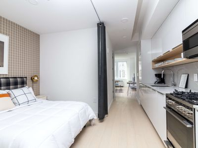 Photo for Sonder | Wall Street | Smart 1BR + Lounge
