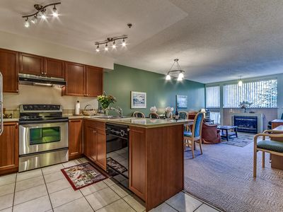 Beautiful Ski-in Ski-out One Bedroom Family Accommodation in Whistler