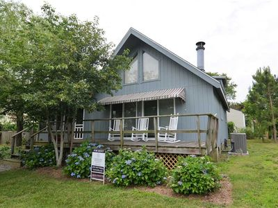Photo for ADORABLE 3 BR COTTAGE A MINUTE AWAY FROM BEACH & BOARDS IN REHOBOTH BEACH