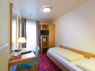 Photo for Single room with shower, WC - Alpina, **** Hotel