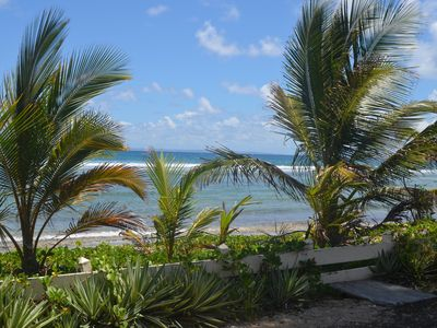 Photo for F2 apartment feet in water on the beach Crystal Beach