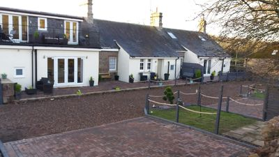 Photo for Charming 3 bed pet friendly cottage near  the  village of Norham Northumberland
