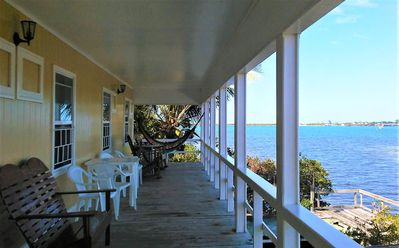 Amazing views and breezes from the 9 foot wide wraparound decks.