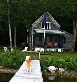Private, Nature,  Waterfront  -  Fish, Swim, Kayak -  Great Maine Camp Living