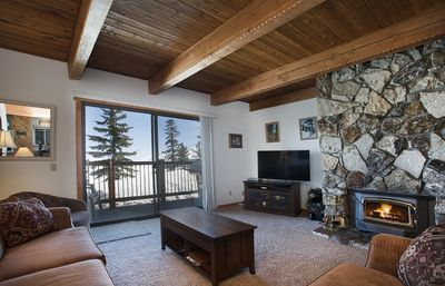 Photo for Recently Updated 2 Bedroom 2 Bath Ski In Ski Out with Gorgeous Views and Private BBQ