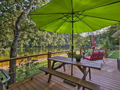 Photo for Cozy Waterfront Cottage w/Deck on the White River!