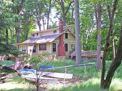Photo for Classic Upper Hamlin Lake Cottage - Indian Pete's Bayou