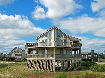Photo for JUST 500 FEET TO BEACH! With 5 Bedrooms, Screened-in Porch, Sun Decks, WIFI