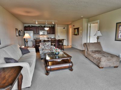 Photo for 1BD/ 1BA condo on Tagalong Golf Course overlooking Red Cedar lake