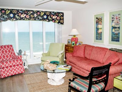 Photo for 3 BR, 3 BA Newly Renovated Oceanfront condo with AMAZING views!
