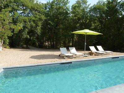 Photo for Four star gite in beautiful settings with private pool. Ideal for a couple