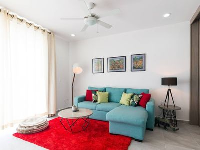 Photo for Exclusive condo w/ jacuzzi, Gym, centrally located