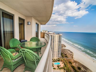 Photo for Corner Oceanfront Condo at Luxury Resort. Enjoy Beautiful Sunrise and Fabulous View!