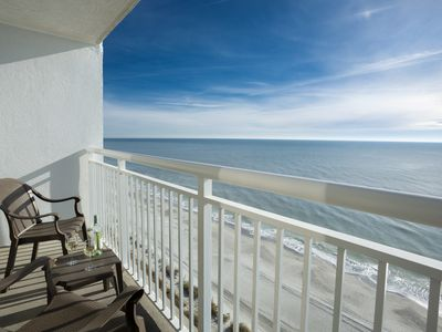 Photo for Relaxing Oceanfront King 2 Bedroom Getaway! Pools! Hot Tubs! Lazy River!