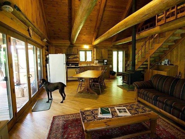 porch in secluded wilderness perfect front the cabins view portfolio is item of wolf reserve lake your hammock elk catch from observe cabin glimpse or scenic this a site to wildlife enjoy michigan deer and rentals