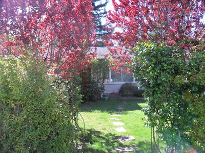 Photo for Charming Garden Home Close to Town and Trails