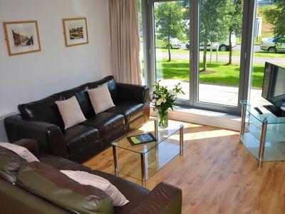 Photo for Modern 2 Bedroom Apartment with FREE Underground parking and Wi-Fi