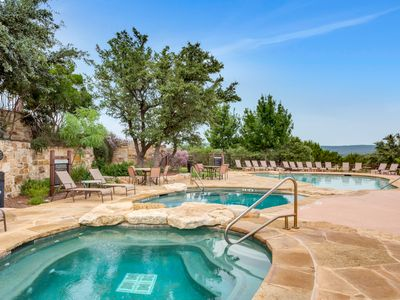 Photo for Beautiful Villa with Lake Travis & Hill Country View at Hollows Resort