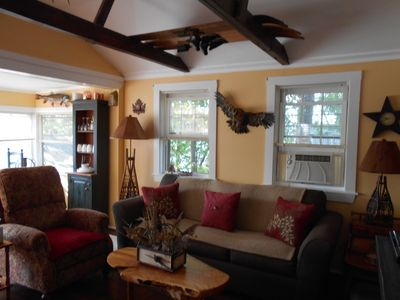 Photo for 2BR Cottage Vacation Rental in Tilton, New Hampshire