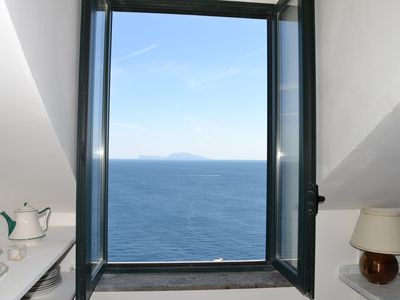 Photo for Superpanoramic house in Procida + 50sqm terrace on Palazzo Storico