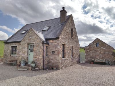 Photo for Breifne Cottage, Traditional Stone Cottage with Views over Dunfanaghy Bay