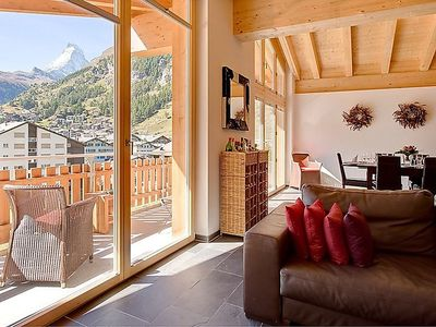 Photo for Apartment in the center of Zermatt with Lift, Internet, Washing machine (143305)