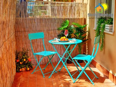 Photo for Apartment just steps from the beautiful beach of Isola delle females