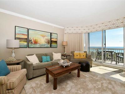 Photo for Upgraded Beachfront Condo. Two King Beds! Includes Beach Service