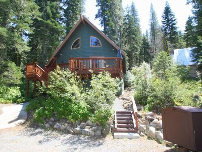 Photo for 3 bedroom, 2 bath, sleeps 8. West End of Donner Lake. Pet Friendly DLR#147