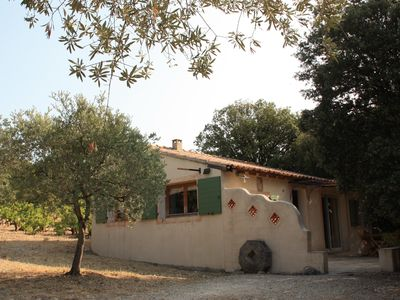 Photo for Charming Cottage ** for 4 people in the country of Ventoux