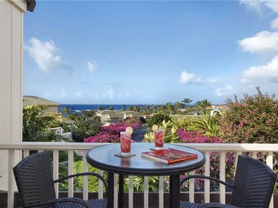 "Photo for Poipu Luxury Upgraded Spectacular Ocean View ""A/C Master Suite""  *Manualoha 703*"