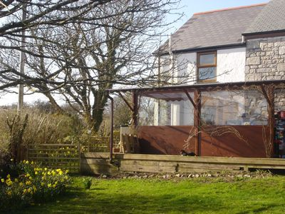 Photo for VERY COMFORTABLE COTTAGE PERFECT FOR EXPLORING CORNWALL FROM
