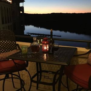 Photo for Large One Bedroom: King With Balcony Views Of Pool And Lake Travis
