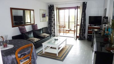 Photo for Grand F2 50m2 terrace 5 min from the sea