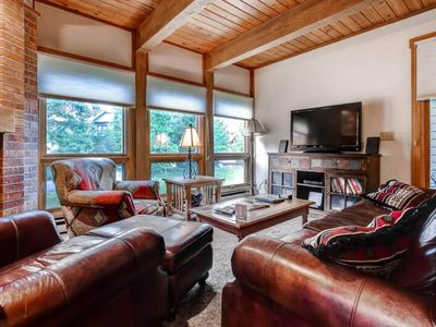 Photo for Classic mountain living w/ a shared pool & hot tubs - near skiing & trails