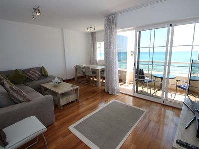 Photo for Luxury beach front apartment in the beautiful town of Altea
