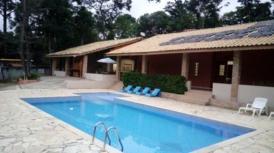 Photo for HIGH STANDARD KITCHEN, HEATED SWIMMING POOL, 5 BEDROOMS - FAMILY GROUP ONLY