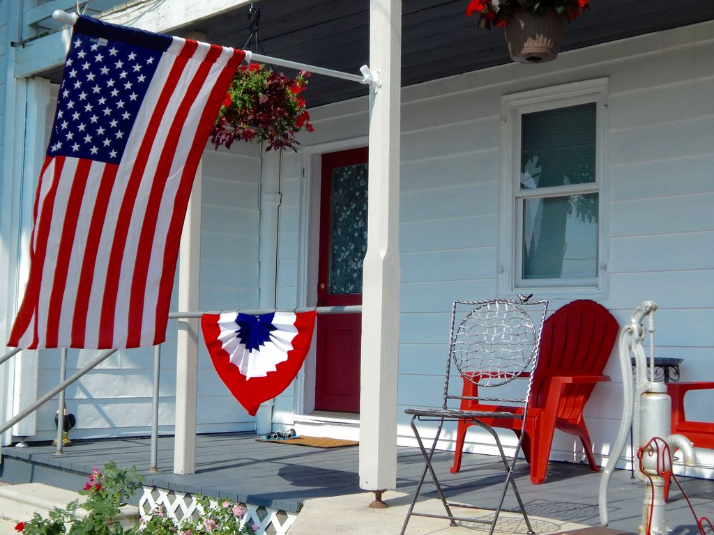 The freckled farmhouse in gettysburg 39 s wine homeaway for Ski liberty cabin rentals