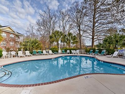 Photo for Cozy Myrtle Beach Condo on Golf Course w/Pool!