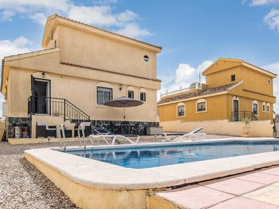 Photo for 3 bedroom Villa, sleeps 6 in Camposol with Pool and WiFi