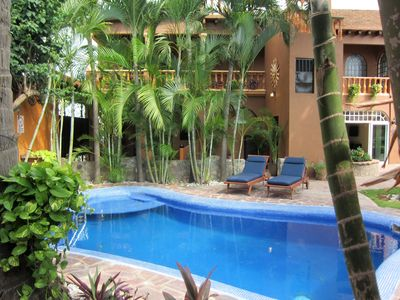 Photo for Fully-Equipped Apartment - Only 5 minute walk to the beach!